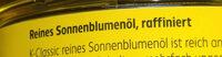 Sonnenblumenöl - Ingredients - de