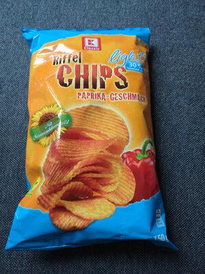 Riffel Chips Paprika - Produit - de