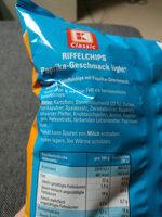 Riffel Chips Paprika - Ingrédients - de