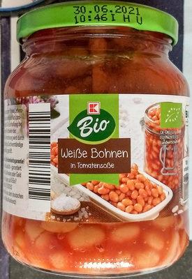 Weiße Bohnen in Tomatensoße - Product