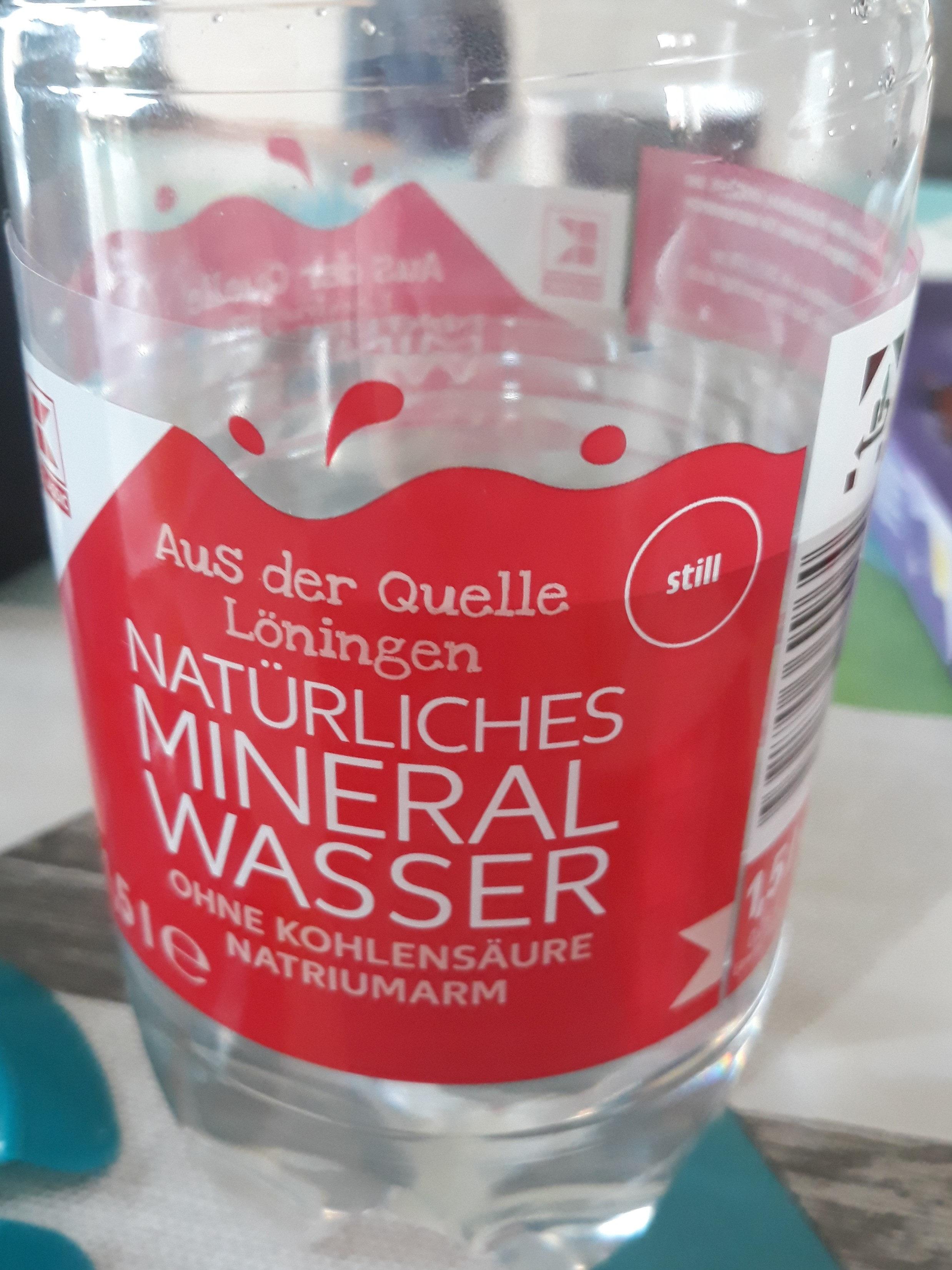 naturliches minéral wasser - Produit