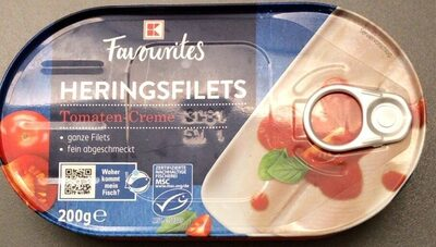 Heringsfilets Tomaten-Creme - Product - en