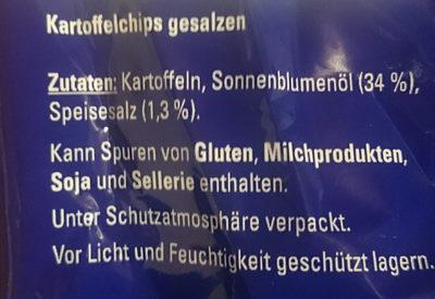 Chips Salz - Ingrédients
