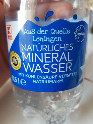 Mineral Wasser - Zutaten - de