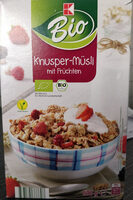 Knusper-Müsli mit Früchten - Product - de