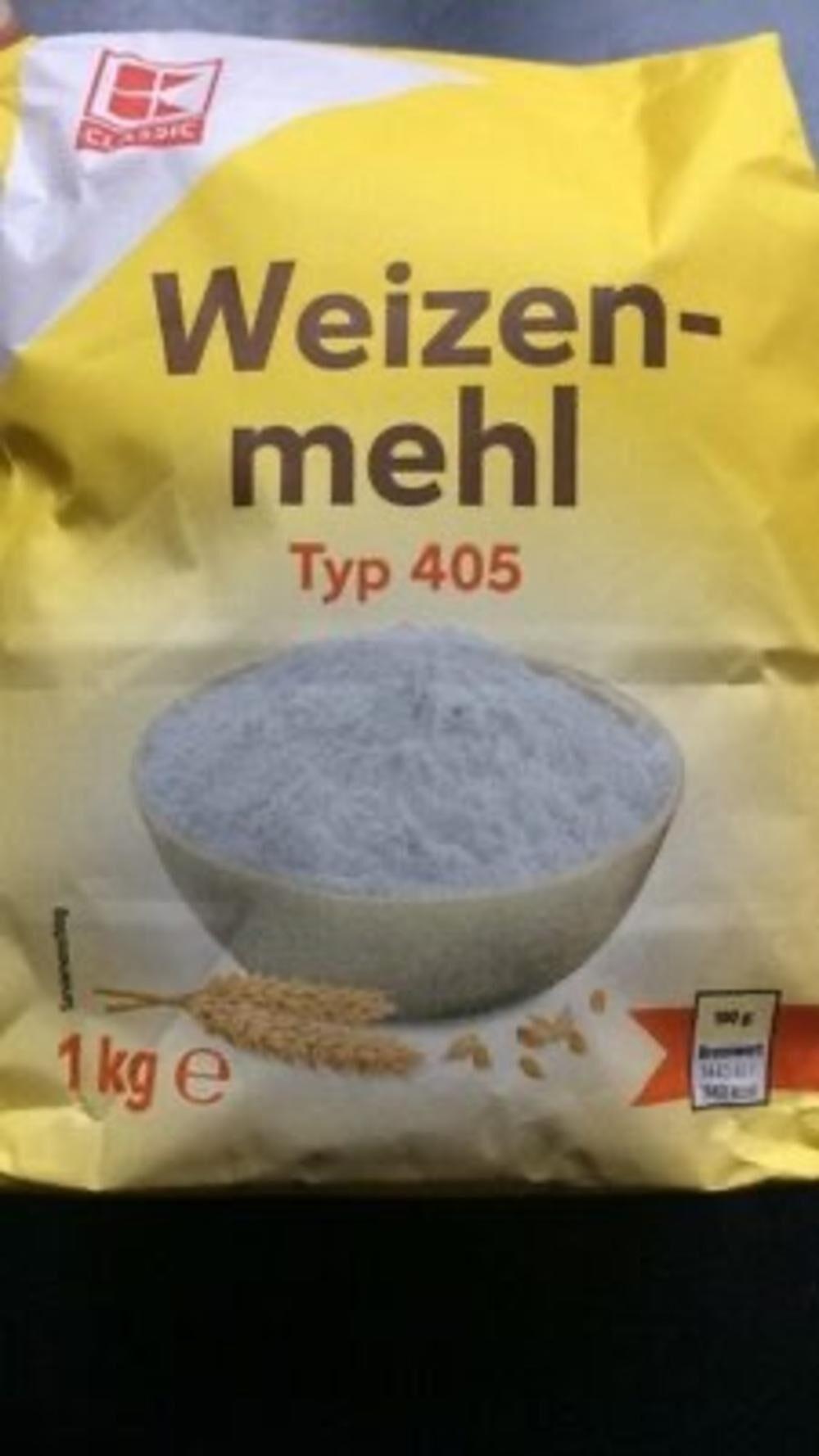 Weizenmehl Typ 405 - Produkt - de