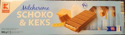 Milchcreme Schoko & Keks - Product - de