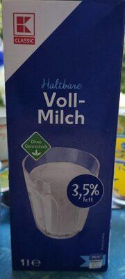 Haltbare Voll-Milch - Produit - fr