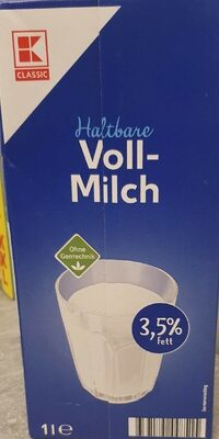 Classic Haltbare Voll-Milch - Produkt - de
