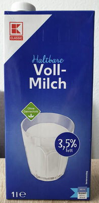 Haltbare Voll-Milch - Product