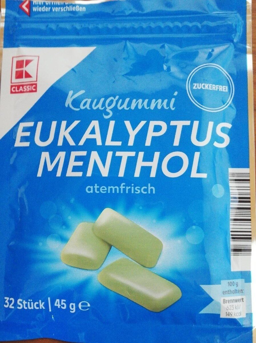Eukalyptus Menthol Kaugummi - Product - de