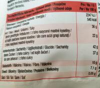 Edelbitter Fondueschokolade portioneirbare drops - Nutrition facts - de