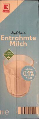 Entrahmte Milch - Produit - de
