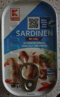 Sardinen mit chili - Produit