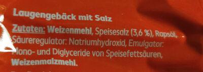 Knusprige Salzstangen - Ingredients