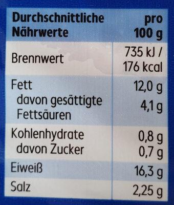 Delikatess Bierschinken - Voedingswaarden - de