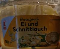 Brotaufstrich Ei und Schnittlauch - Product - de