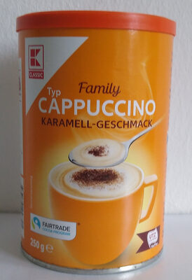 Typ Cappucino Karamell-Geschmack - Product - de