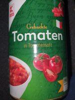 Gehackte Tomaten in Tomatensaft - Produkt - de