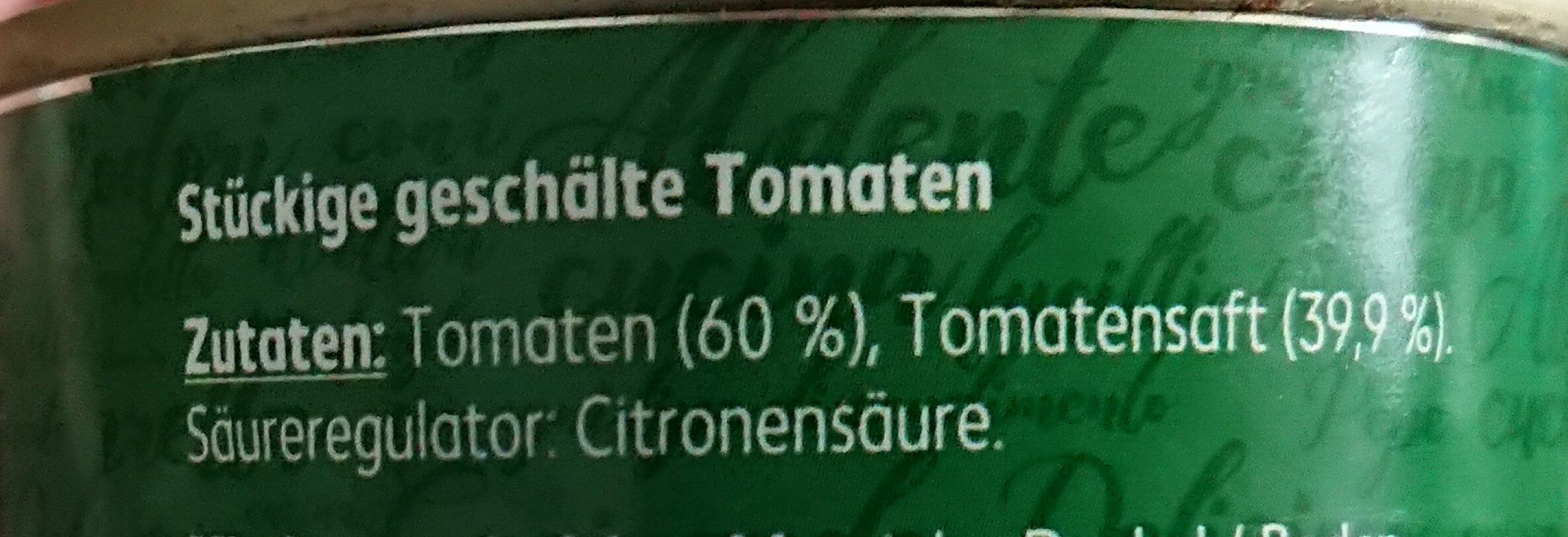 Italienische Tomaten gehackt in Tomatensaft - Ingredients - de