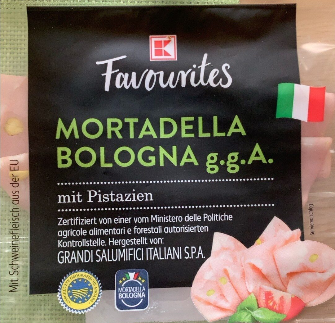 Mortadella Bologna g.g.A. mit Pistazien - Produit - de