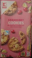 Cranberry Cookies - Produit - de