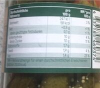 Premium Cornichons - Informations nutritionnelles - de