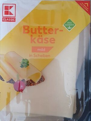 Butterkäse in Scheiben (mild) - Product - de