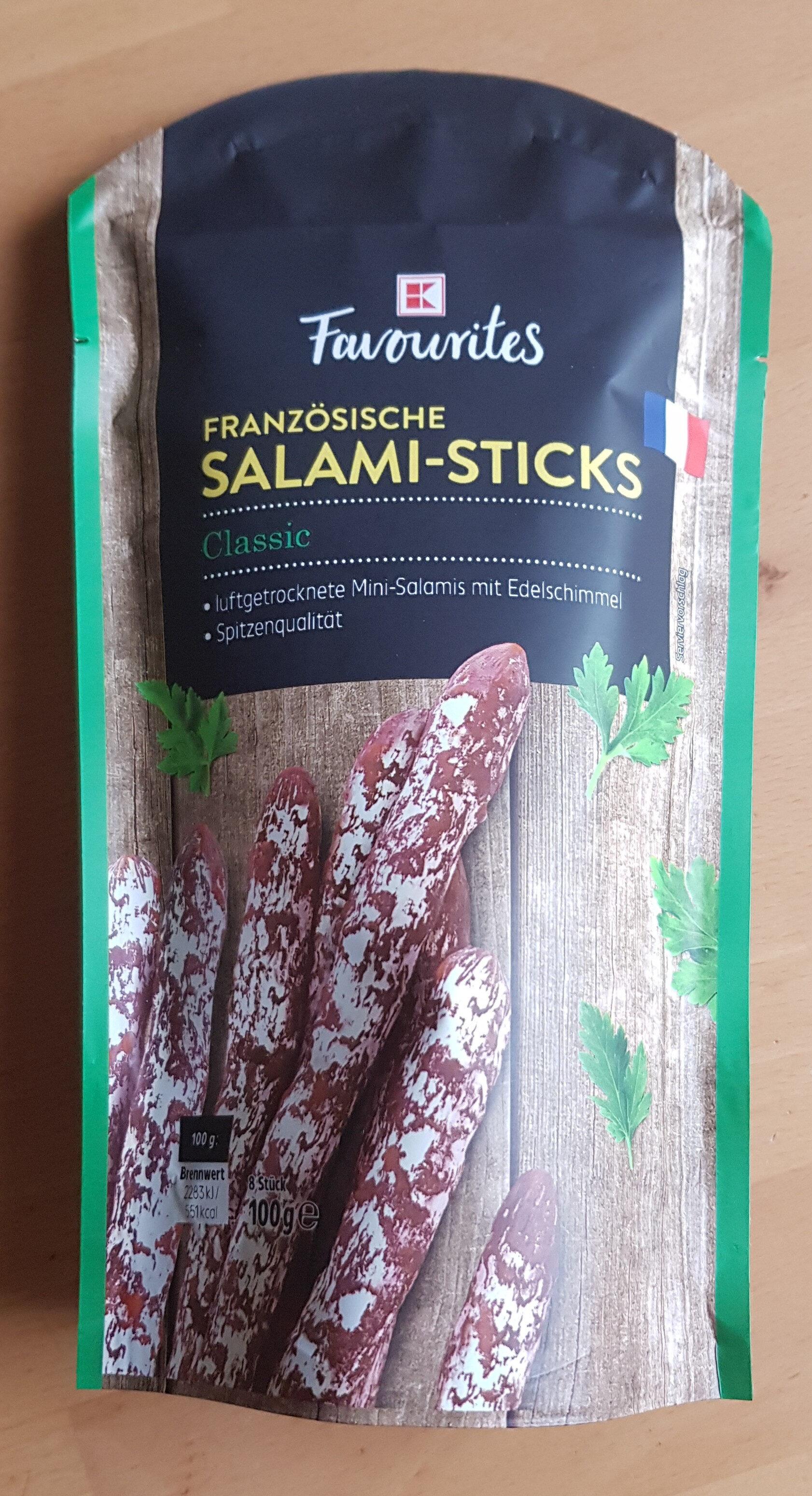 Französische Salami-Sticks - Product - de