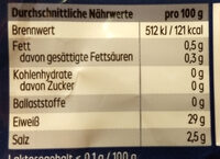 Handkäse mit Edelschimmel - Nutrition facts