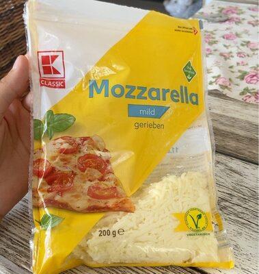 Mozzarella mild gerieben - Product - de