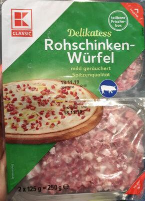 Rohschinken-Würfel / Lardons - Product
