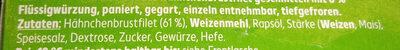 Hähnchen Minischnitzel - Ingrédients - de