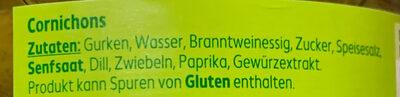 Knackige Cornichons würzig - Ingredienti - de