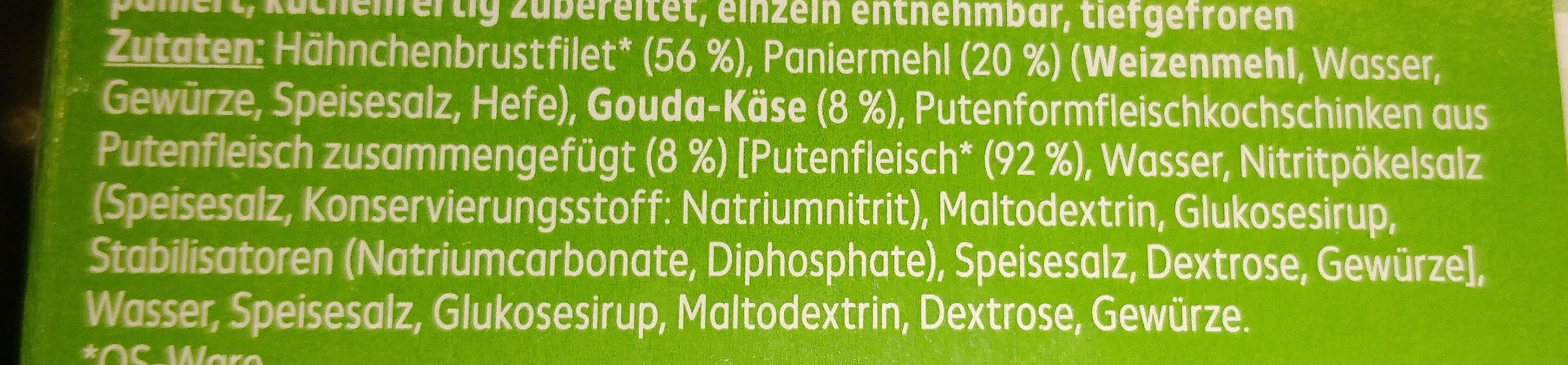 Hähnchen Corden Bleu - Ingrédients - de