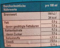 Bio Kokos Reis Drink - Informations nutritionnelles - fr