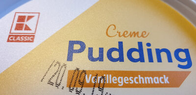 Pudding Vanillegeschmack - Product