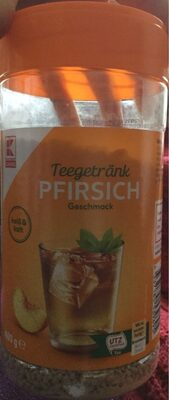 Teegetränk Pfirsich - 3