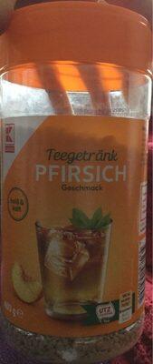 Teegetränk Pfirsich - Prodotto - de