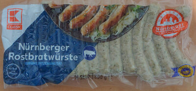 Nürnberger Rostbratwürste - Produit - de