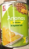 Ananas in stücken - Product - en