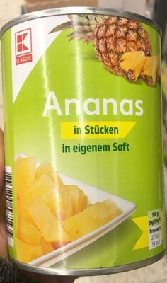 Ananas in Stücken - Product