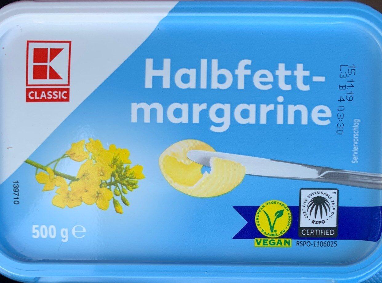 Halbfett-Margarine - Produit - de