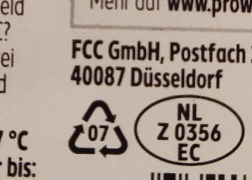 Gouda Holland mittelalt - Istruzioni per il riciclaggio e/o informazioni sull'imballaggio - de