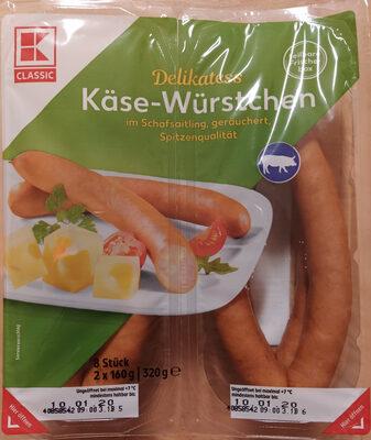 Käse-Würstchen - Product