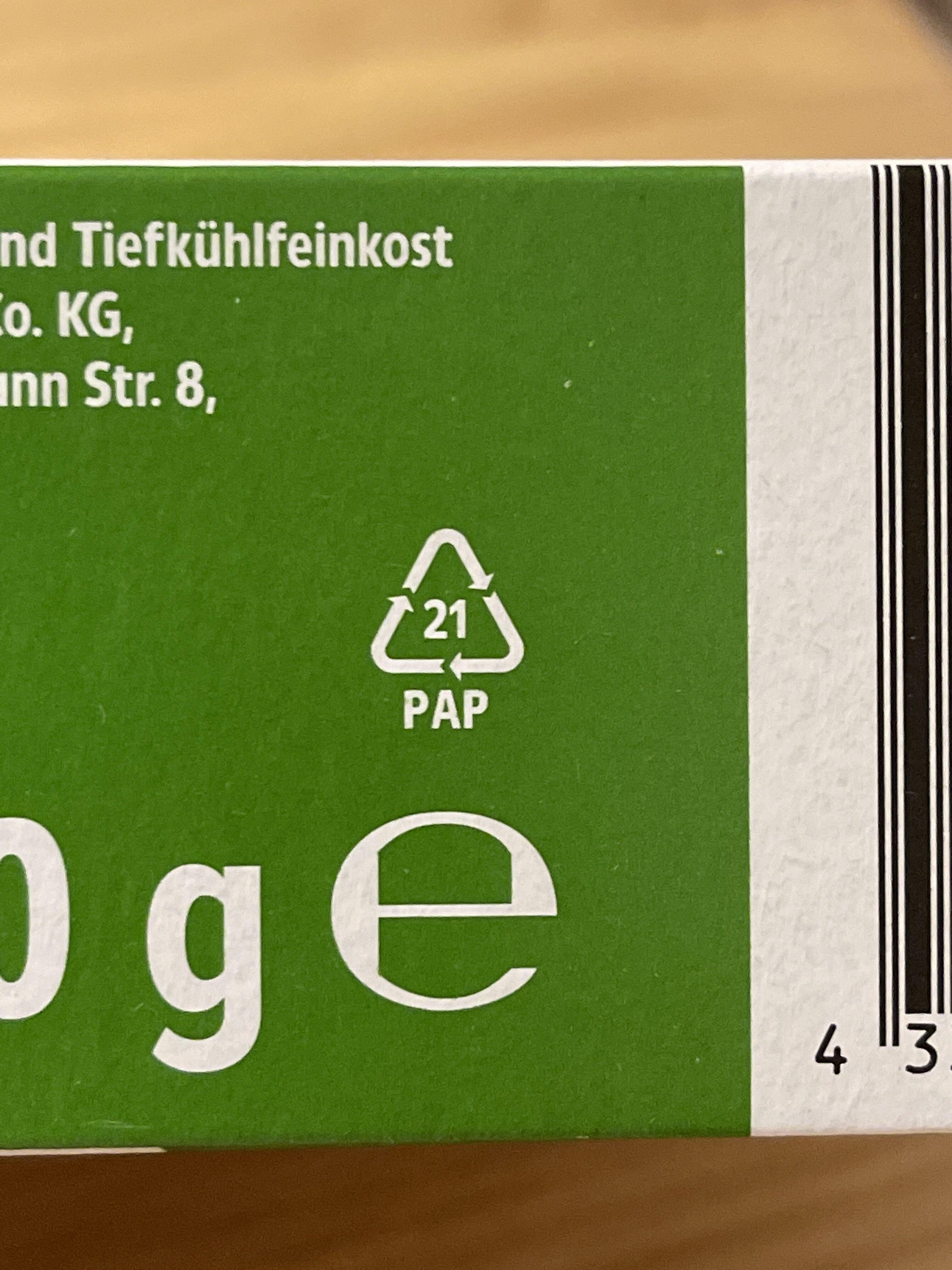 Deutsche Hähnchenschenkel mit 8% Flüssigwürzung - Wiederverwertungsanweisungen und/oder Verpackungsinformationen - de
