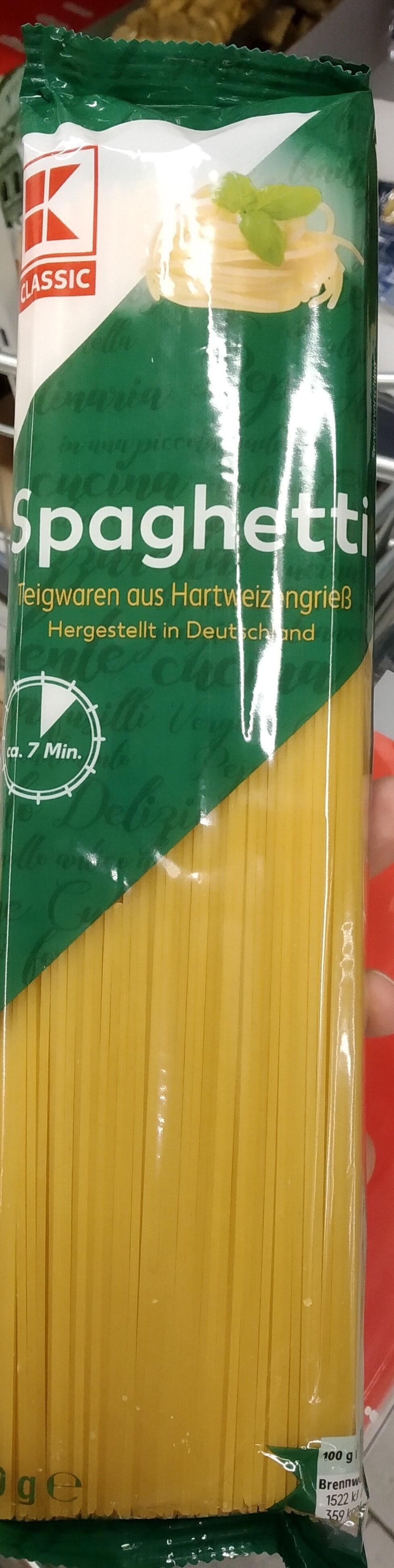 Spaghetti - Product - de