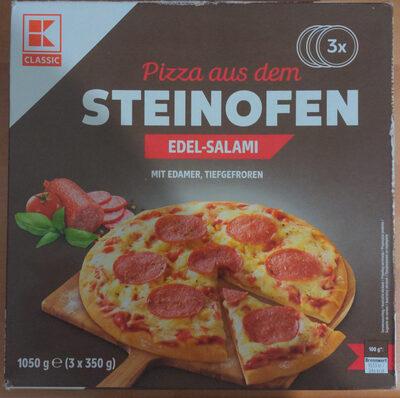 Pizza aus dem Steinofen Edel-Salami - Produkt - de