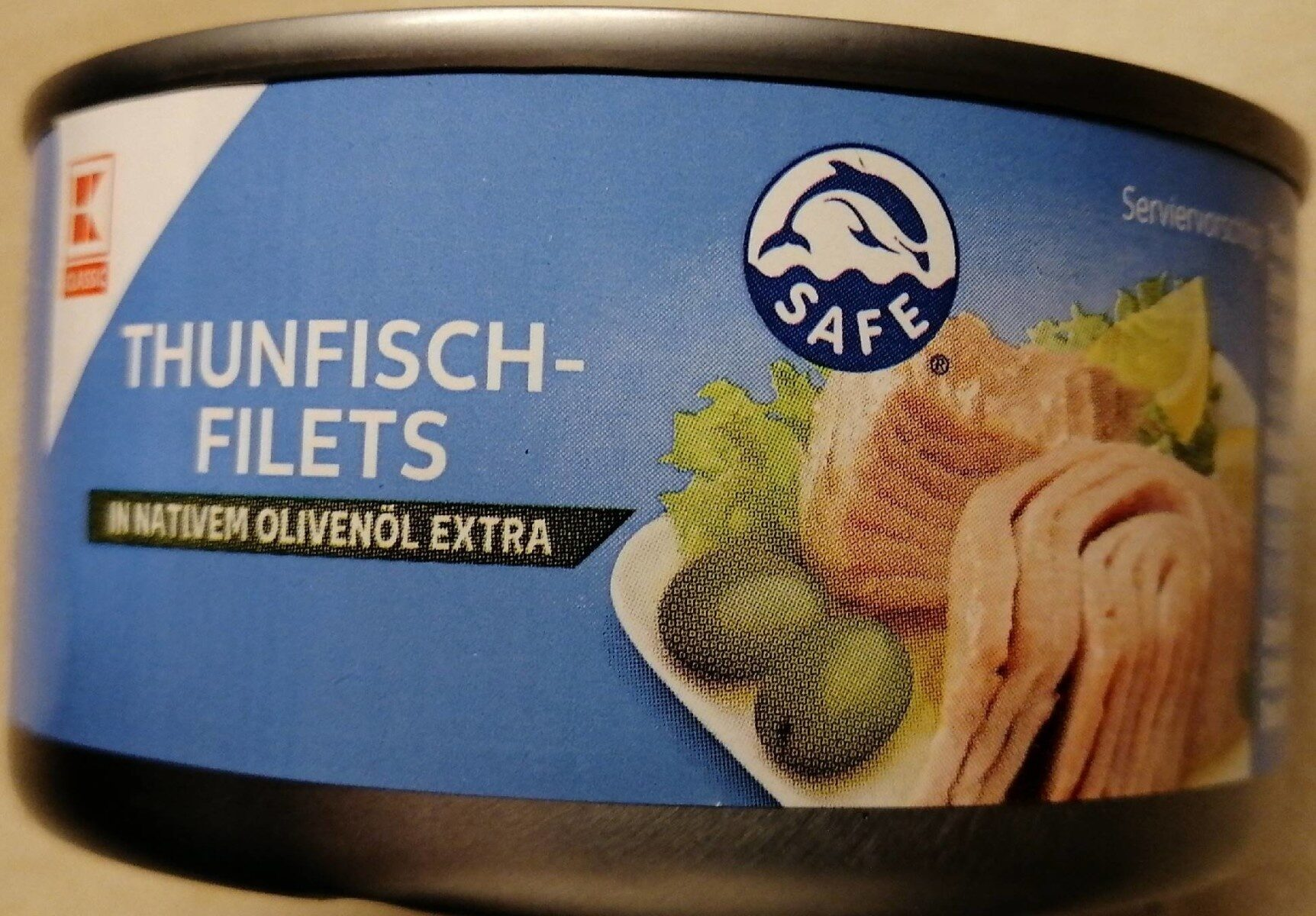 Thunfisch Filets in nativen Olivenöl extra - Product - de