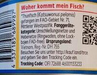 Thunfisch Filets - Zutaten - de